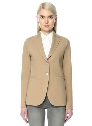 Harris Wharf London Blazer Ceket Bej